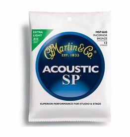Martin & Co. Martin Acoustic Saiten SP 12 Strings .010 -.047  MSP 4600 Phosphor Bronze