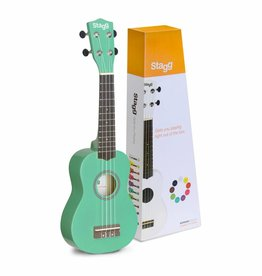 Stagg Stagg US Grass Ukulele (inkl. Tasche)