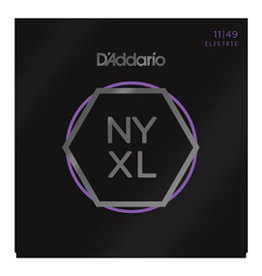 D'addario D'addario NYXL1149 Nickel Wound Electric Guitar Strings, Medium, 11-49