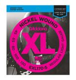 D'addario D'addario EXL170-5 Nickel Wound 5-String Bass, Light, 45-130, Long Scale
