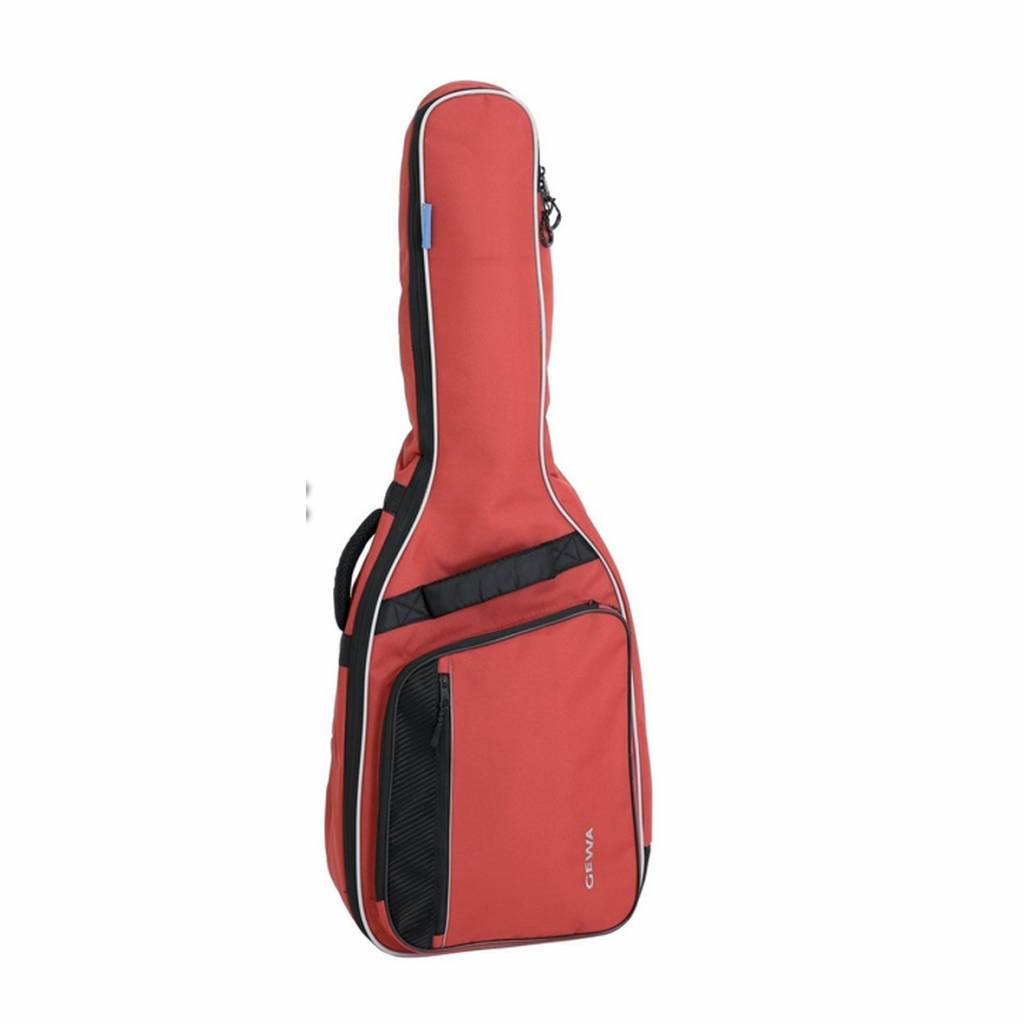 GEWA Gewa Gitarren Gig-Bag Konzert 3/4 Rot
