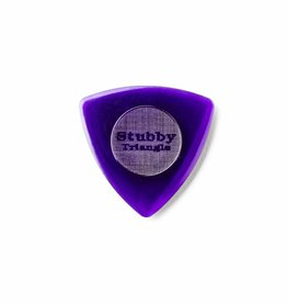 Dunlop Tri Stubby Picks dark purple 3.00 mm
