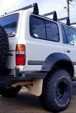 Toyota Spatbordverbreders voor  Toyota LandCruiser 80 -  95 mm breed