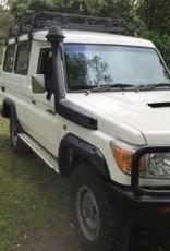 Toyota Spatbordverbreders voor Toyota Land Cruiser 78 - 50 mm breed
