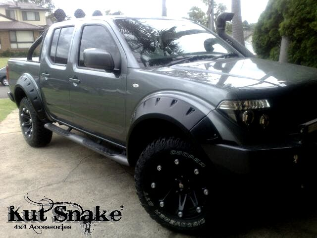 Nissan Fender Flares For Nissan Navara D40 95 Mm Wide