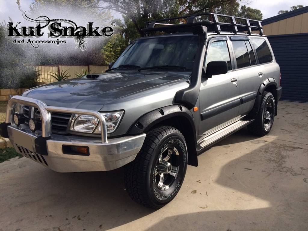 nissan fender flares for nissan patrol y61 50 mm wide adventure