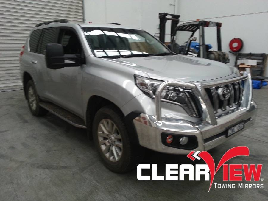 Toyota Clearview Towing Mirror Toyota 150/Prado Electric with indicators Only