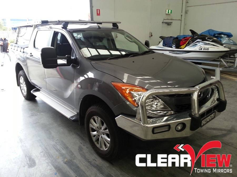 Mazda Clearview Towing Mirror Mazda BT-50 2012+ - Electric Only