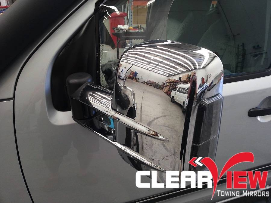 Nissan Clearview Towing Mirror Nissan Navara D40
