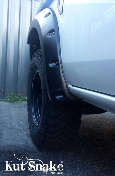 Ford Fender Flares for Ford Ranger PJ/PK - 70mm wide