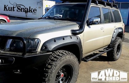 nissan fender flares for nissan patrol y61 series 4 70 mm wide
