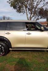 Nissan Kotflügelverbreiterung Nissan Patrol Y62 -  60mm breit