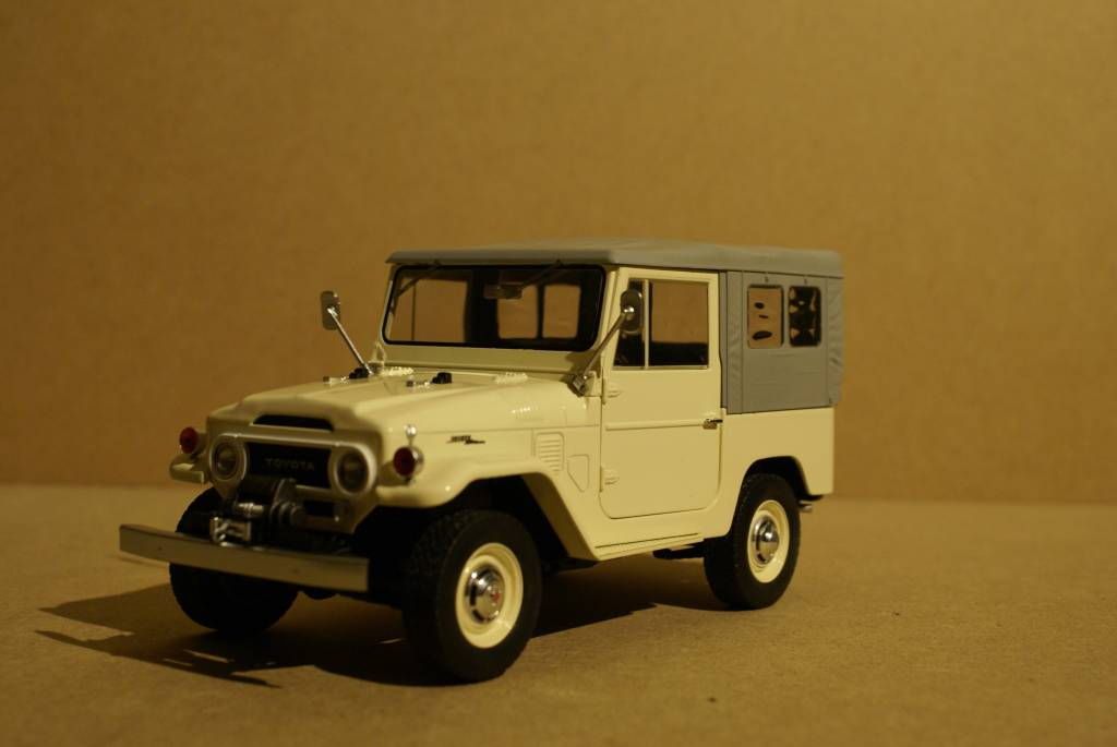 Toyota 1967 Toyota Land Cruiser FJ40 with closed soft top