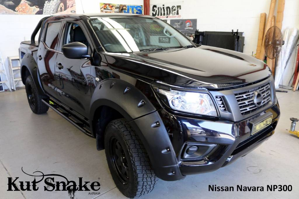 Nissan Spatbordverbreders Nissan Navara D23-standard - 68-78mm breed