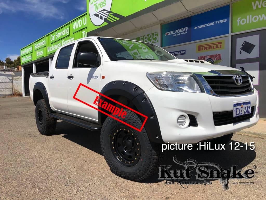 Toyota Kotflügelverbreiterung Toyota Hi-Lux 2005-2012 standard (vor face-lift) - 50mm breit