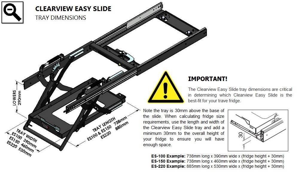 ClearView Easy Slide ES100Plus