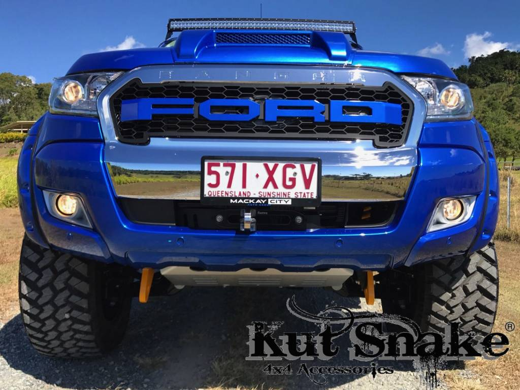 Ford Fender Flares Ford Ranger PX - 85 mm wide - Smooth finish