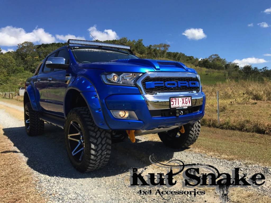 Ford Fender Flares Ford Ranger PX - 55 mm wide - Smooth finish