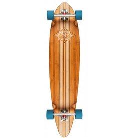 "D-Street D-Street longboard pintail bamboo marina smoked 41"""