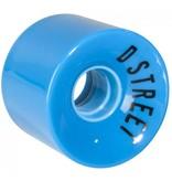 D-Street D-Street wheels 59 cent blue 59mm 78A 4pk
