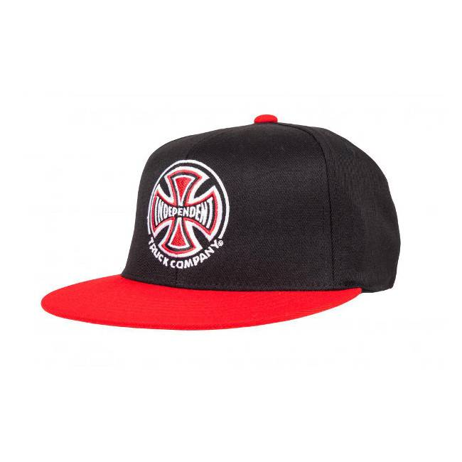 Independent Independent cap Truck Co Black Red L XL