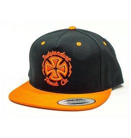 Independent Independent cap Voltage Black Orange OSFA