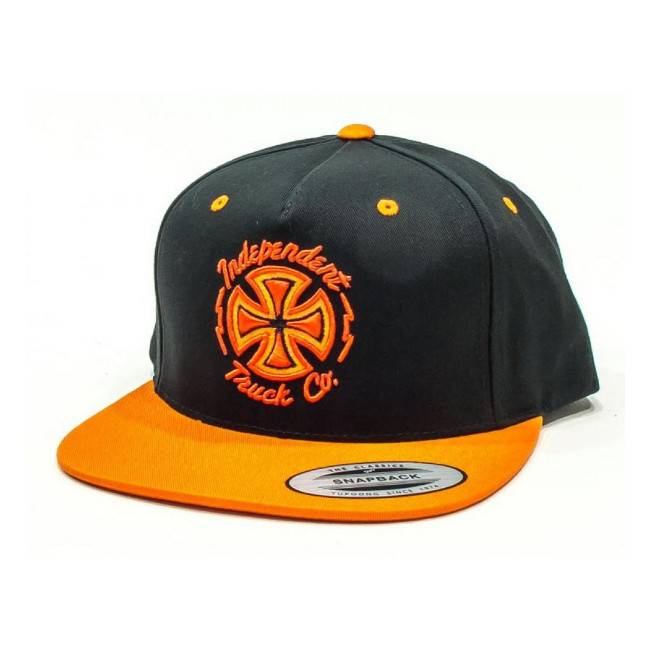 Independent Independent cap Voltage Black Orange OSFA