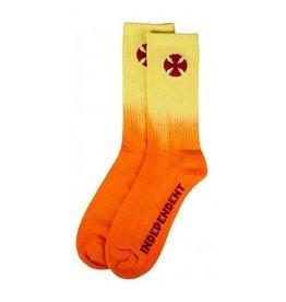 Independent Independent Socks Light It Up Sock Orange OS ADULT
