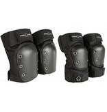 Pro-Tec Pro-Tec padset Street KNee Elbow set Black XL