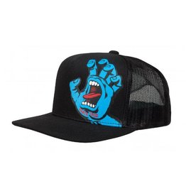 Santa Cruz Santa Cruz Cap Screaming Hand Mesh Back Black OSFA ADULT
