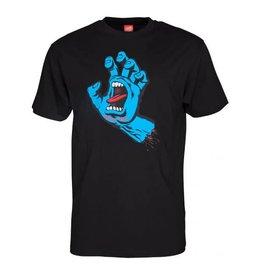 Santa Cruz Santa Cruz T Shirt Screaming Hand Black L ADULT
