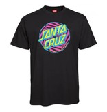 Santa Cruz Santa Cruz T-Shirt Party Dot Black L ADULT