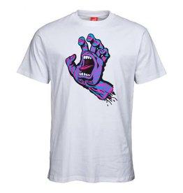Santa Cruz Santa Cruz T-Shirt Party Hand White XL ADULT
