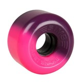 Sims Sims rollerskate wheels Street snakes 2tone pink purple 62mm 78A 4pack