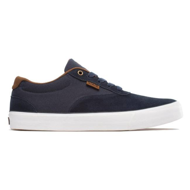 State Footwear State Footwear Madison navy brown 9 - 42