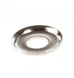 Sushi Sushi kingpin bottomwasher conical silver each 28mm