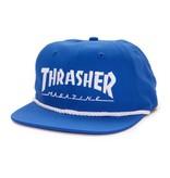 Thrasher Thrasher cap Logo Rope snapback blue