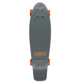 D-Street D-Street cruiser polyprop grande grey orange 27""