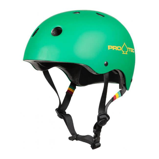 Pro-Tec Pro-Tec Helmet Classic Certified Matte Rasta Green S