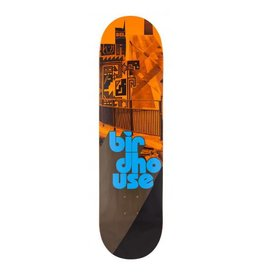 Birdhouse Birdhouse Logo Deck Stacked Orange/Black 8.25 IN