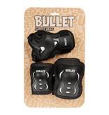 Bullet Bullet Triple Padset Blast 10-12yrs Black/White L JNR