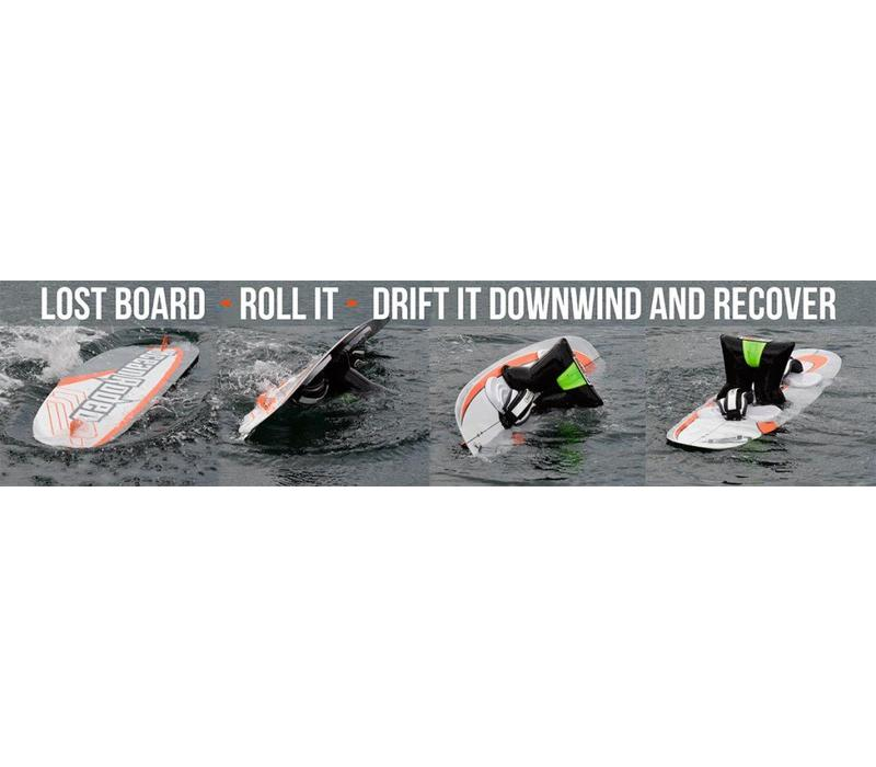 GO-JOE Leashless kite board recovery