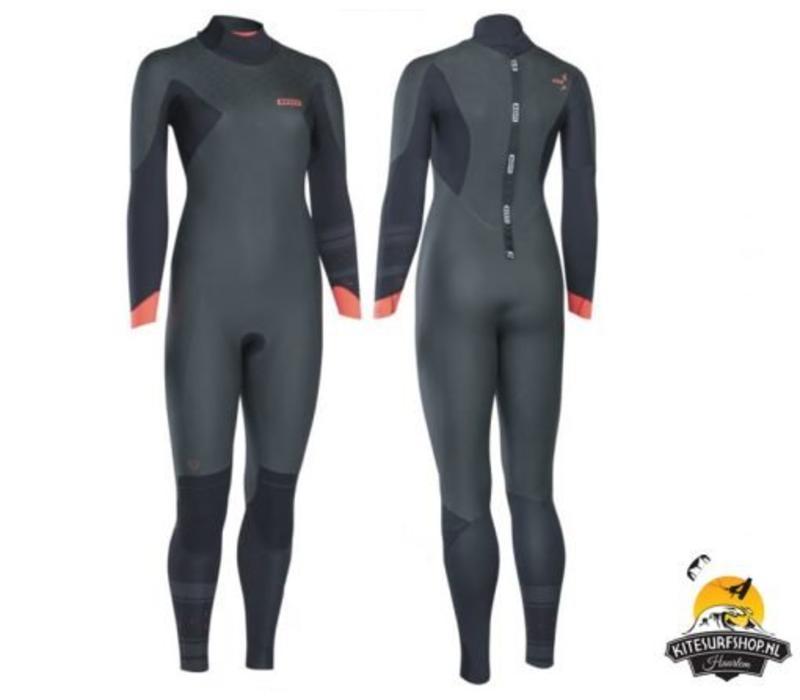 ION 2016 Jewel Amp Skinbackzip 5/4 wetsuit maat M