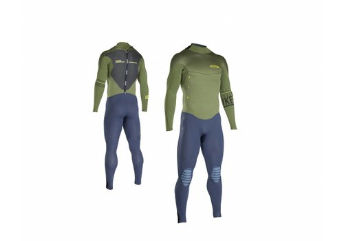 ION ION - Wetsuits BS - Strike Semidry 5,5/4,5 DL olive/blue
