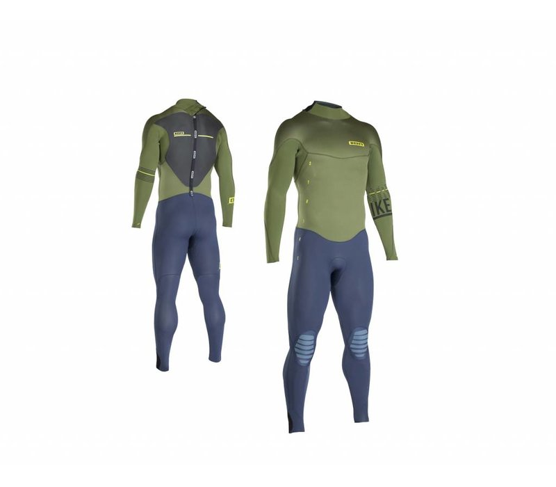 ION - Wetsuits BS - Strike Semidry 5,5/4,5 DL olive/blue