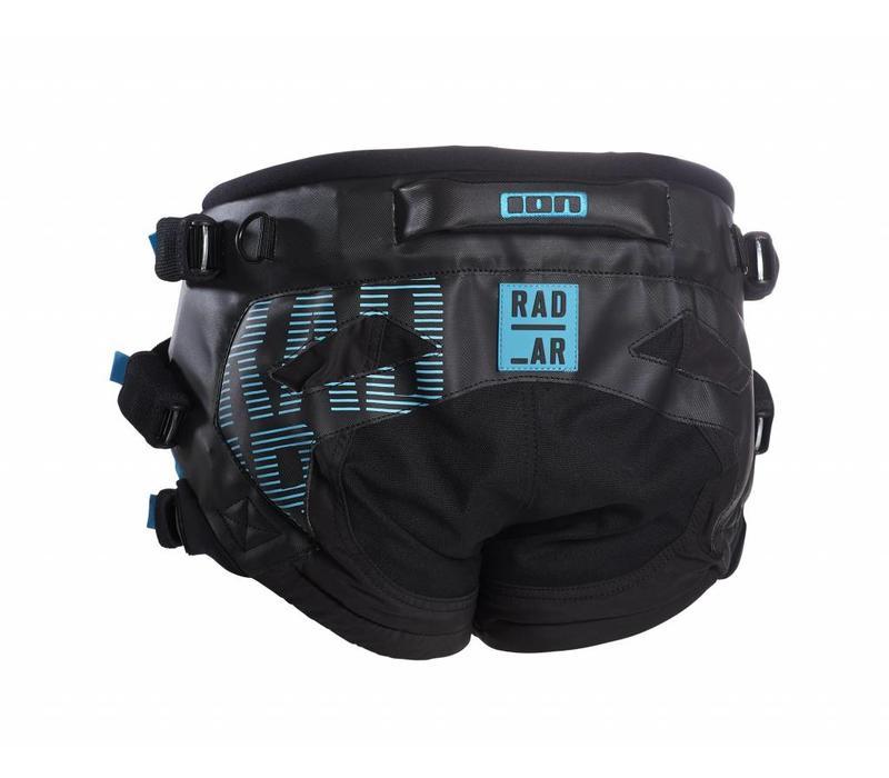 ION 2017 Radar black Kite Seat Harness.