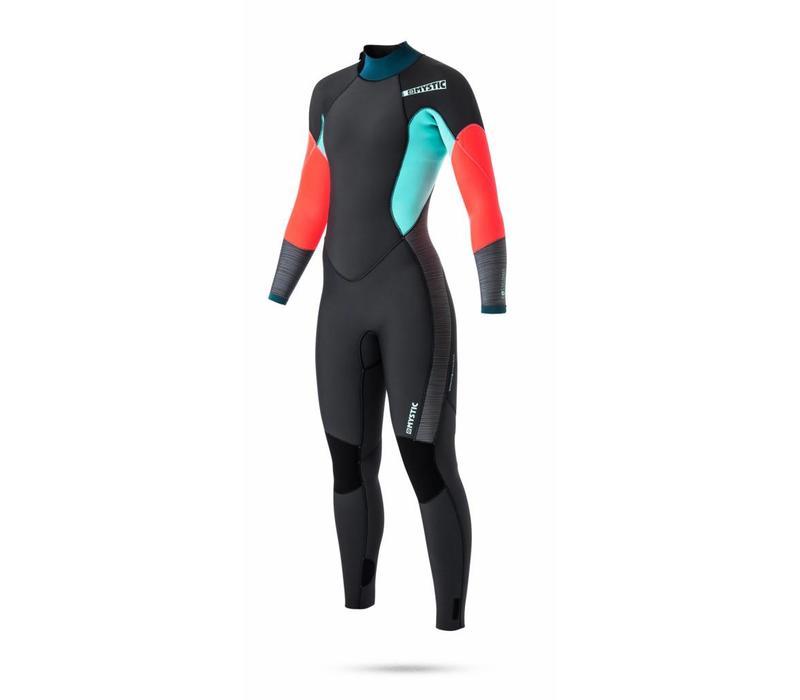 Diva 3/2 full suit backzip