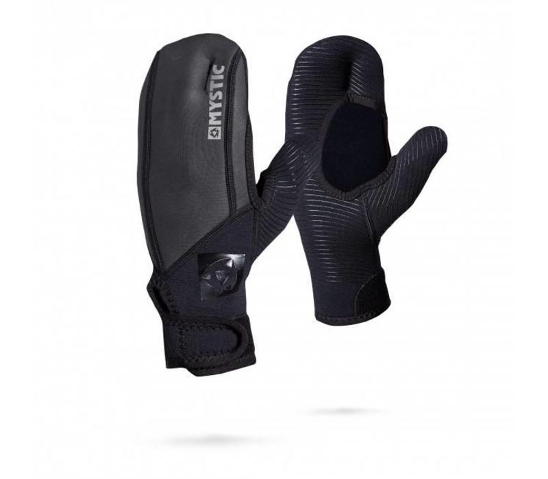 MSTC - 1,5 mil Open Palm Mitten Black