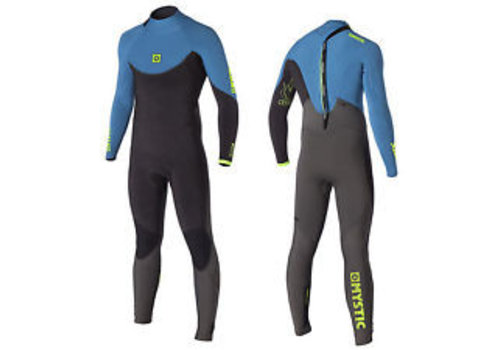 Mystic Crossfire 5/3 D/L Fullsuit Backzip Marine Blue