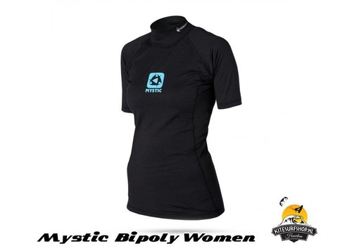Mystic Bipoly Thermo Vest S/S Women Black
